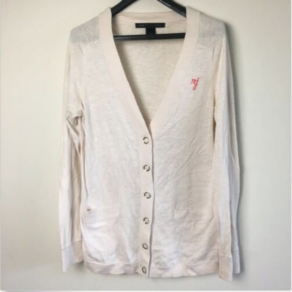 Marc by Marc Jacobs Cotton Cardigan Sweater